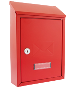 Rear Access Letter Box.Rear Access Letter Boxes Gate Post Boxes Next Day P P Safe