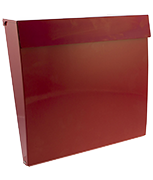 Thumbnail of Calder Red - Steel Post Box