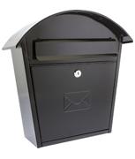 Thumbnail of Humber Black - Steel Post Box