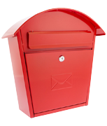 Thumbnail of G2 Humber Red - Steel Post Box