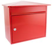 Mersey Red - Steel Post Box