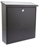Thumbnail of Severn Black - Steel Post Box
