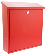 Severn Red - Steel Post Box