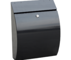 Thumbnail of Curvo Black - Steel Post Box