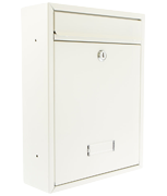 Trent White - Steel Post Box