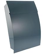 Thumbnail of Tweed Green - Steel Post Box