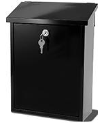 Liffey Black - Fence Post Box