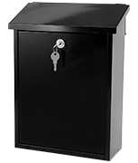 Thumbnail of Liffey Black - Fence Post Box