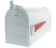 Thumbnail of US Mailbox - White