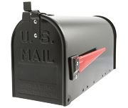 Thumbnail of US Mailbox - Black Aluminium