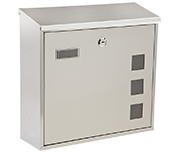 Thumbnail of Lunette - Stainless Steel Post Box