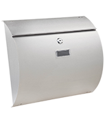 Thumbnail of Convex - Stainless Steel Post Box