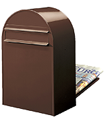 Brown Post Boxes | Safe co uk