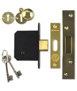 Thumbnail of SecureFast SKD - BS 5 Lever Deadlock (67mm, Polished Brass)