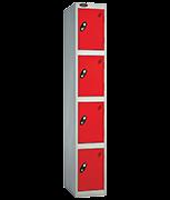 Thumbnail of Probe 4 Door - Wide Red Locker