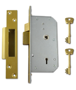 Thumbnail of Union 3K70 - 5 Detainer Sashlock (73mm) L/H (Polished Brass)