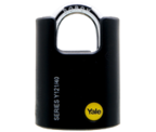 Thumbnail of Yale Y121 Black Jacket 40mm Brass Padlock