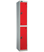 Probe 2 Door - Extra Wide Red Locker