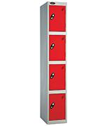 Thumbnail of Probe 4 Door - Extra Wide Red Locker
