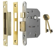 Thumbnail of ERA 302 Viscount - 5 Lever Sashlock (77mm, Polished Brass)