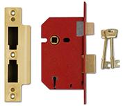 Thumbnail of Union 2201 - 5 Lever Sashlock (65mm, Polished Brass)