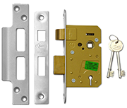 Thumbnail of Asec 3 Lever Sashlock (64mm, Stainless Steel)