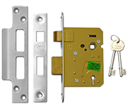 Thumbnail of Asec 3 Lever Sashlock (76mm, Stainless Steel)