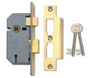 Thumbnail of Union 2277 - 3 Lever Sashlock (51mm, Polished Brass)