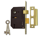 Thumbnail of Union 2243 - 3 Lever Sashlock (76mm, Polished Brass)