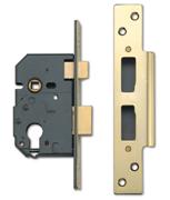 Thumbnail of Yale 3100 - Euro Cylinder Sashcase (67mm, Polished Brass)
