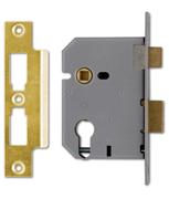 Thumbnail of Union L2249 - Euro Cylinder Sashcase (65mm, Polished Brass)