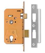 Thumbnail of Union L2270 - Euro or Oval Cylinder Sashcase (94mm, Satin Chrome)