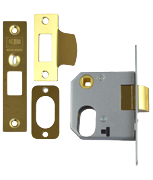Thumbnail of Union 2332 - Oval Cylinder Nightlatch Case (65mm, Polished Brass)