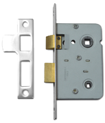 Legge 3751 - Bathroom Lock (64mm, Nickel Plated)