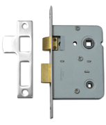 Legge 3751 - Bathroom Lock (76mm, Nickel Plated)