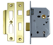 Thumbnail of Union 2226 - Bathroom Lock (65mm, Polished Brass)