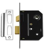 Thumbnail of Union 2294 - Bathroom Lock (76mm, Polished Chrome)