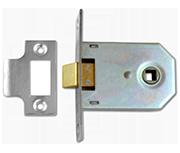 Thumbnail of Union 2642 - Flat Pattern Latch (75mm, Polished Chrome)