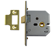 Thumbnail of Union 2677 - Flat Pattern Latch (65mm, Polished Brass)