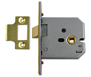 Thumbnail of Union 2677 - Flat Pattern Latch (77mm, Polished Brass)