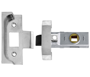 Union 2650 - Rebated Tubular Latch (64mm, Silver)