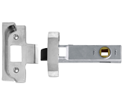 Union 2650 - Rebated Tubular Latch (80mm, Silver)