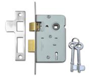 Legge 159 - 2 Lever Sashlock (64mm, Stainless Steel)