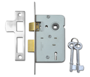 Thumbnail of Legge 159 - 2 Lever Sashlock (64mm, Stainless Steel)