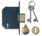 Yale PM562 - BS 5 Lever Deadlock (67mm, Polished Brass)