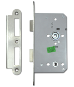 Briton 5430 DIN - Bathroom Lock (93mm) RD (Stainless Steel)