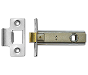 Thumbnail of Asec Tubular Latch (64mm, Satin Chrome)