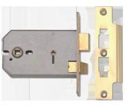 Thumbnail of Union 2026 - Horizontal Bathroom Lock (124mm, Polished Brass)