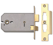Thumbnail of Union 2026 - Horizontal Bathroom Lock (149mm, Polished Brass)