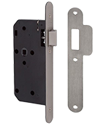 Thumbnail of Union J2C23 DIN - Flat Pattern Latch (83mm) RD (Stainless Steel)